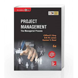 Project Management: The Managerial Process by Erik Larson Book-9789339212032