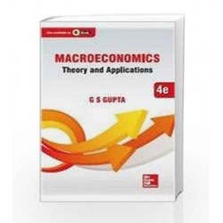 Macroeconomics: Theory and Applications by G.S. Gupta Book-9789339214364