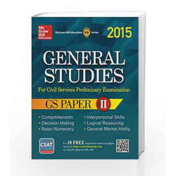 General Studies - Paper 2 (2015) by MHE Book-9789339217938