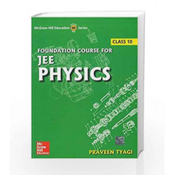 Foundation Course for JEE Physics by Praveen Tyagi Book-9789339218195