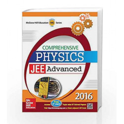 Comprehensive Physics: JEE Advanced 2016 by McGraw Hill Education Book-9789339221447