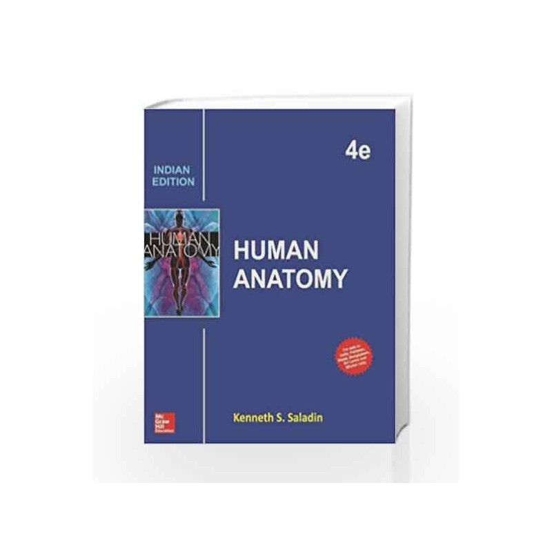 Human Anatomy By Kenneth S Saladin Buy Online Human Anatomy Book At