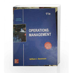 Operations Management by William J. Stevenson Book-9789339224387