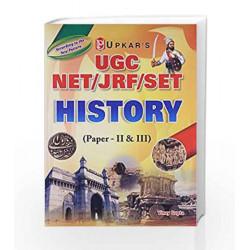 UGC NET/JRF/SET History (Paper-II & III) by Vinay Gupta Book-9789350133026