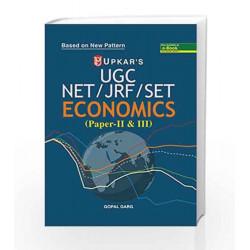 UGC NET/JRF/SET Economics (Paper II & III) by Gopal Garg Book-9789350133309