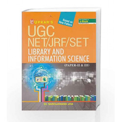 UGC NET/JRF/SET Library And Information Science (Paper-II & III) by Sarojanand Jha Book-9789350133613