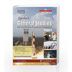 General Studies (Paper 1) for Civil Services  Preliminary Examination by Jigeesha\'s Book-9789350358719
