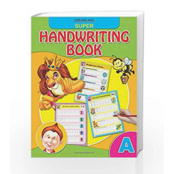 Super Hand Writing Book - Part A by Dreamland Publications Book-9789350892251