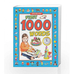 First 1000 Words by Dreamland Publications Book-9789350892923