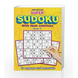 Super Sudoku with Solutions Book - 4 by Dreamland Publications Book-9789350895115