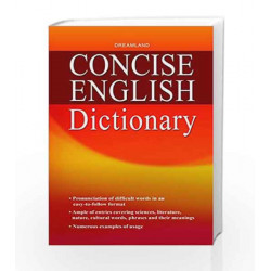 Concise English Dictionary by Dreamland Publications Book-9789350896570