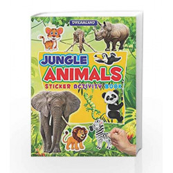 Sticker Activity Book - Jungle Animals by Dreamland Publications Book-9789350896792