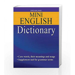 Mini English Dictionary by Dreamland Publications Book-9789350898604