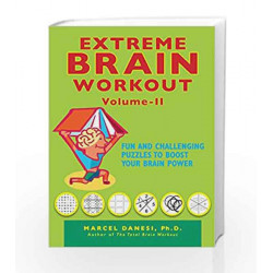 Extreme Brain Workout - Vol. 2 (Harlequin Non Fiction) by Marcel Danesi Book-9789351062394