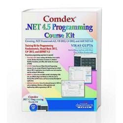 Comdex .NET 4.5 Programming Course Kit by Vikas Gupta Book-9789351194071