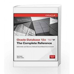 Oracle Database 12C: The Complete Reference by Byrla Book-9789351343707