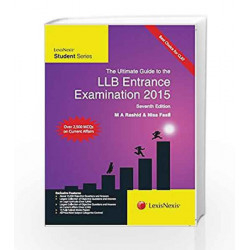 The Ultimate Guide to the Llb Entrance Examination 2015 by DICTIONARY Book-9789351433415