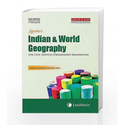 Indian & World Geography (Civil Services (Preliminary) Examinations) by Jigeesha Book-9789351436188