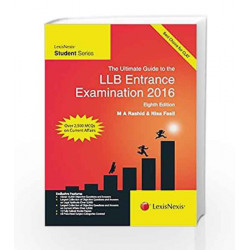 The Ultimate Guide To The Llb\nEntrance Examination 2016 by M.A. Rashid Book-9789351436799