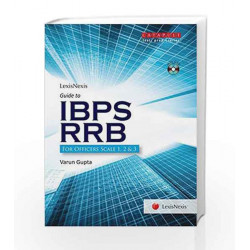 Guide To Ibps Rrb (For Officers Scale 1, 2 & 3) With Dvd by Varun Gupta Book-9789351439240