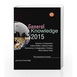 General Knowledge 2015 by GKP Book-9789351441779