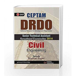 DRDO (CEPTAM) Sr. Tech. Asst. Civil Engineering: Senior Technical Assistant Civil Engineering by GKP Book-9789351443667