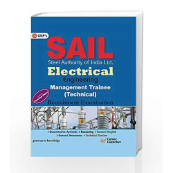 Guide to SAIL Electrical Engineering: Management Trainee Technical - 2015 by GKP Book-9789351444664