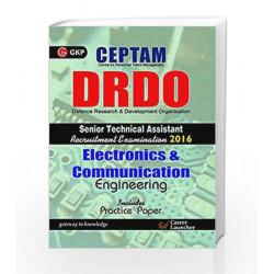 DRDO (CEPTAM) Sr.Tech. Asst. Electronics & Communication Engg. by GKP Book-9789351448037