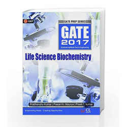 Gate Guide Life Sciences Biochemistry 2017 by GKP Book-9789351448723