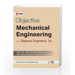 Objective Mechanical Engg(Diploma) Competitive Exams by GKP Book-9789351448921