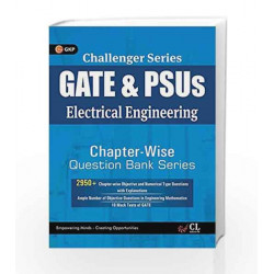 Challenger Series GATE & PSU\'s Electrical Engineering Chapter-wise Question Bank Series by GKP Book-9789351448945