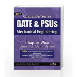 Challenger Series GATE & PSU\'s Mechanical Engineering Chapter-wise Question Bank Series by GKP Book-9789351448969