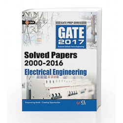 Gate Paper Electrical Engineering 2017 (Solved Papers 2000-2016) by GKP Book-9789351449249