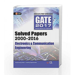 Gate Paper Electronics & Communication Engineering 2017 (Solved Papers 2000-2016) by GKP Book-9789351449256