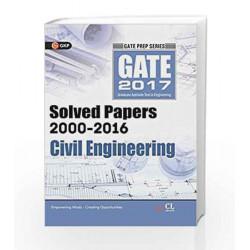 GATE Paper Civil Engineering 2017 by GKP Book-9789351449270