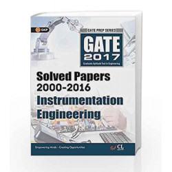 GATE Paper Instrumentation Engineering 2017 (Solved Papers 2000-2016) by GKP Book-9789351449430