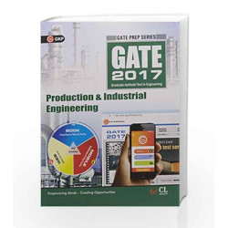 GATE Guide Production & Industrial Engineering 2017 by GKP Book-9789351449614