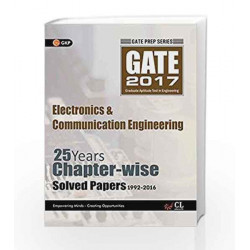 GATE Papers Electronics & Communication Engg. 2017 Solved Papers 25 Years (Chapterwise) by GKP Book-9789351449683