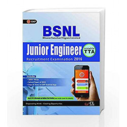 Guide to BSNL Telecom Technical Assistant Junior Engineer (Erstwhile TTA) by GKP Book-9789351449836