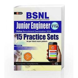 BSNL Junior Engineering (Erstwhile TTA) 15 Practice Sets by GKP Book-9789351449942