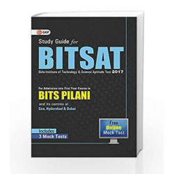 BITSAT (Birla Institute of Technology & Science Aptitude Test) Includes Mock Tests by GKP Book-9789351450207