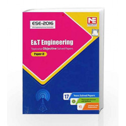 ESE-2016: Electronics & Telecommunication Engg. Objective Solved Paper II (Old Edition) by MADE EASY Team Book-9789351471226