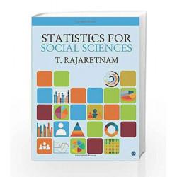 Statistics for Social Sciences by T. Rajaretnam Book-9789351506553