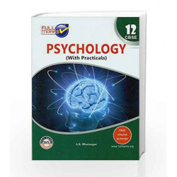 Psychology Class 12 by Full Marks Book-9789351550259