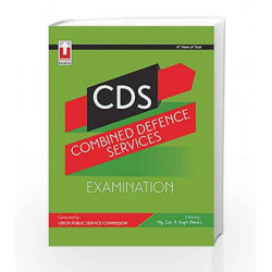 18.9.2-Combined Defence Services CDS Exam by Wg. Cdr. P. Singh Book-9789351870609