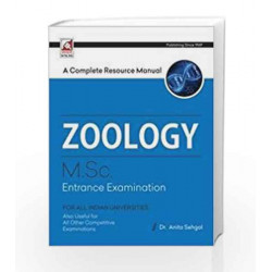 Zoology A Complete Guide (M.Sc. Entrance Examination) (1969) by Anita Sehgal Dr Book-9789351870845