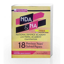 18.12.2-NDA Previous Paper by Wg. Cdr. P. Singh (Retd.) Book-9789351871118