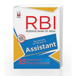 RBI Assistant Practice Papers (Master Guide Series) by Unique Research Academy Book-9789351872245
