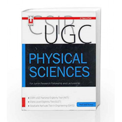 SCIR UGC Physical Sciences For Junior Research Fellowship and Lectureship by Kumar Book-9789351872719