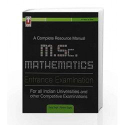 A Complete Resource Manual M.Sc Mathematics Entrance examination by rashmi Gupta Suraj Singh Book-9789351872818